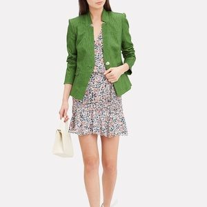 Veronica Beard Farley Linen Blend Dickey Jacket